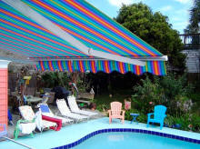Poolside Retractable Awning